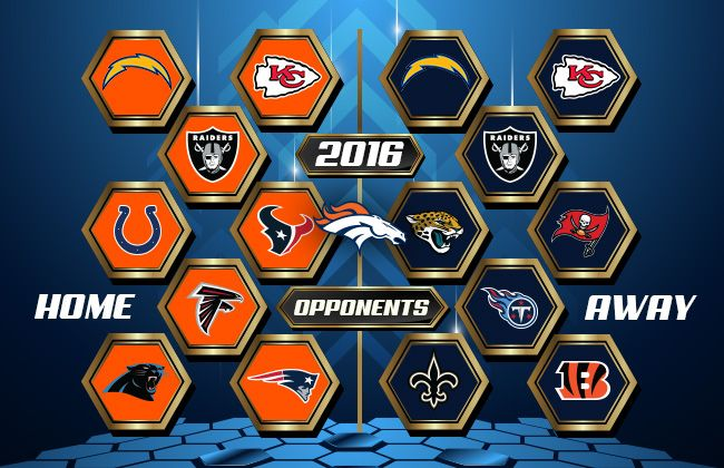 Denver Broncos | Future Opponents 2016