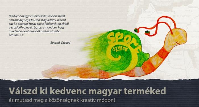 Kedvenc magyar csokoládé a Sportszelet.  Botond, Szeged  http://www.breslo.hu/blog/kiserlet-3-lepesben-2-szakasz-valaszd-ki-kedvenc-magyar-termeked-es-mutasd-meg-a-vilagnak-kreativ-modon/