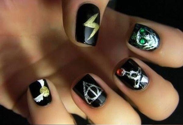 Manicure Nail Polish Harry Potter