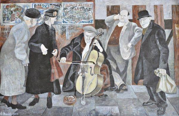 29 The yellow Cello, Portobello Rd. Alfred Daniels, Spitalfields Life