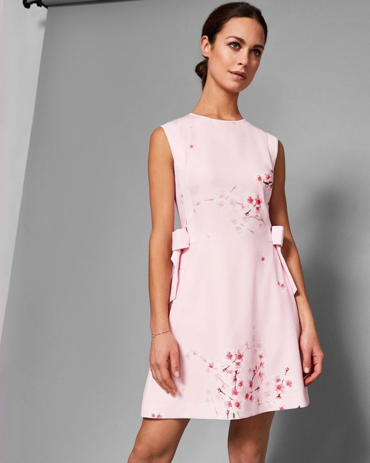 SEELLA Soft Blossom bow detail dress #TedToToe