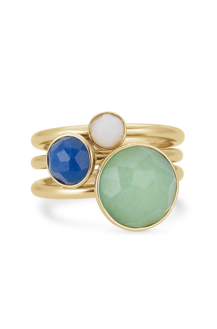 Colorful Stone Stackable Rings   Florence Stackable bands   Stella & Dot www.stelladot.com/roseannedwards