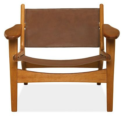 Lars Leather Lounge Chair - Lounge Chairs - Recliners & Lounge Chairs - Living - Room & Board