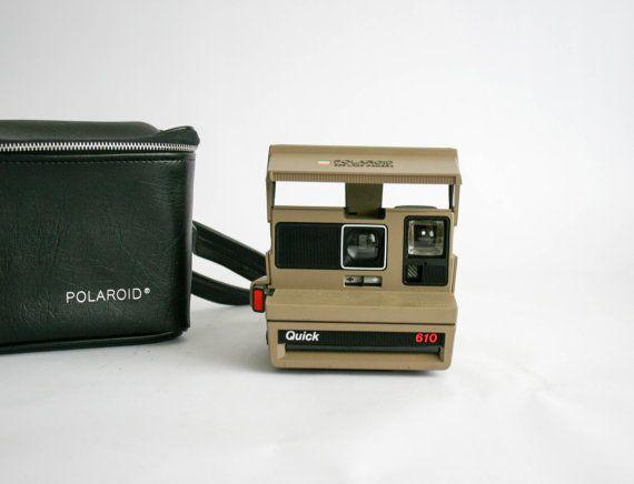 Macchina fotografica d'epoca Polaroid QUICK 610 di DoubleRandC