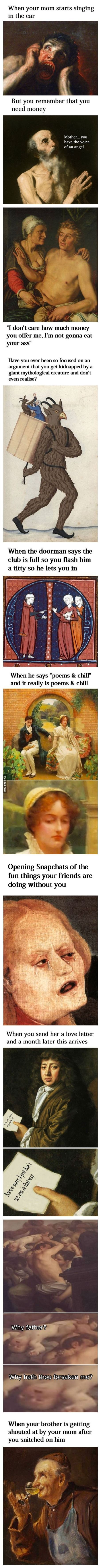 Classical Art Memes Latest (Part-7)