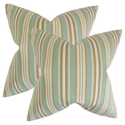 Gracie Oaks Bergues Outdoor Throw Pillow