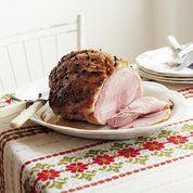 Maple glazed roast gammon   Easy Christmas recipes