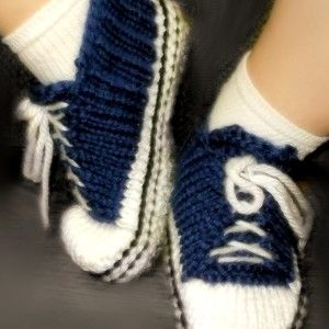Knitting Pattern For Baby Tennis Shoes : Pin by Kelly Taylor on Loom Knit Footwear Pinterest Shoes, Products and T...
