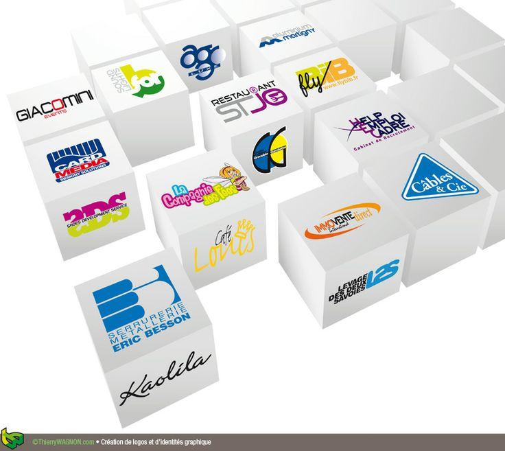 Création de logos et d'identités graphiques
