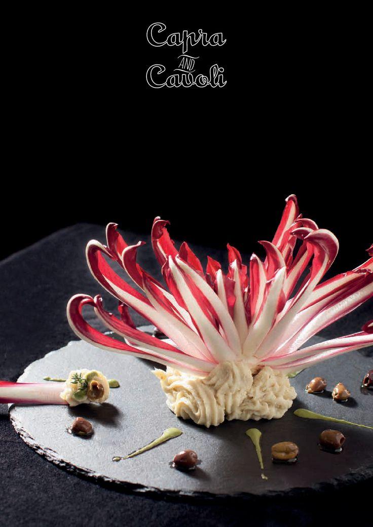 I secondi non sono gli ultimi - Baccalà  I fiori non hanno bisogno di chiedere dove possono sbocciare (Chef Luca G. Pappalardo)