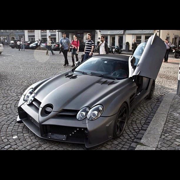 Matte Black Mercedes