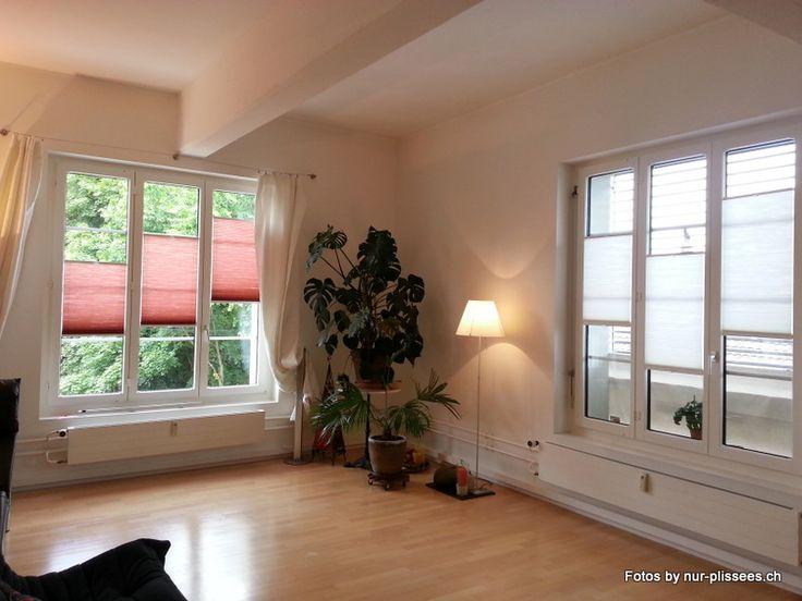 Plissee Wohnzimmer Modell | Nur Plissees Ch Nurchgmbh On Pinterest