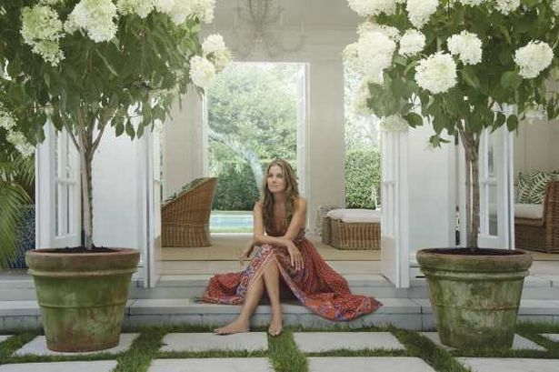 KEEPING IT SIMPLE: Aerin Lauder launches a new collection today
