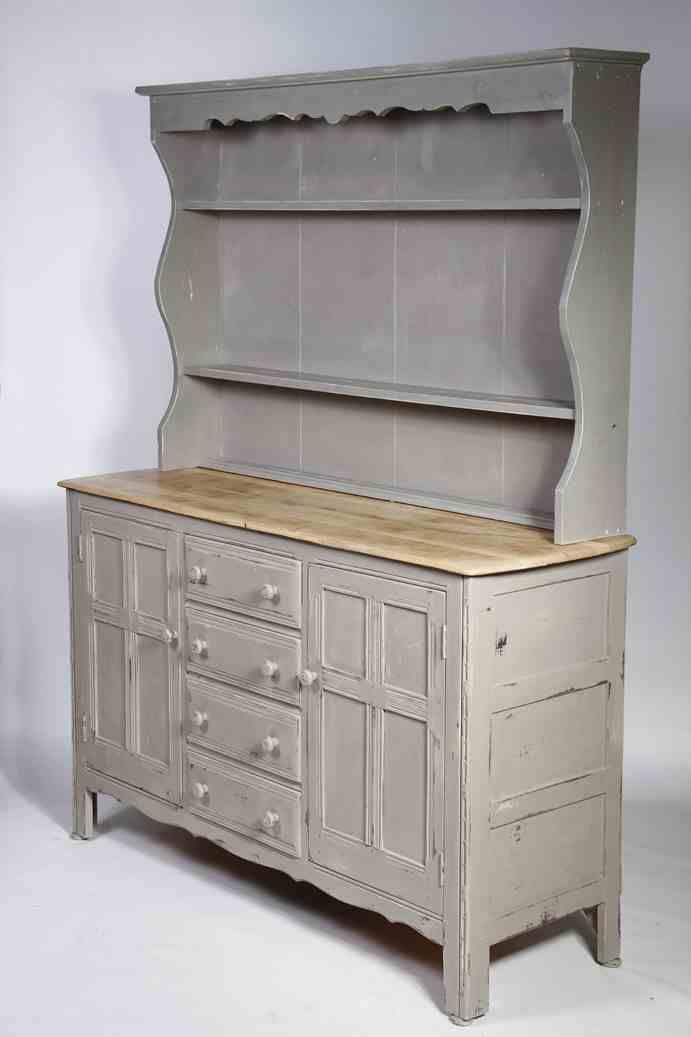 Shabby chic dresser from harod - in Farrow and Ball Charleston grey