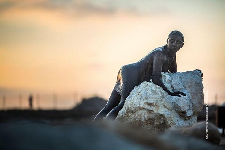 """Sol Alter"" by Yiota Ioannidou: a homage to Aphrodite #paphos #pafos #yiotaioannidou #cypriotart #sculpturepark https://plus.google.com/+PissouribayCyp/posts/iY2dJeSDQLy"
