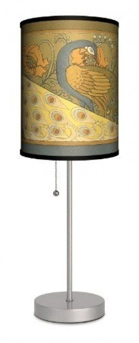 Dcor Art - Peacocks Sport Silver Lamp