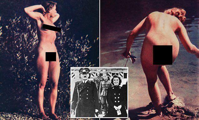 #Collector #claims #naked photos of Eva Braun...