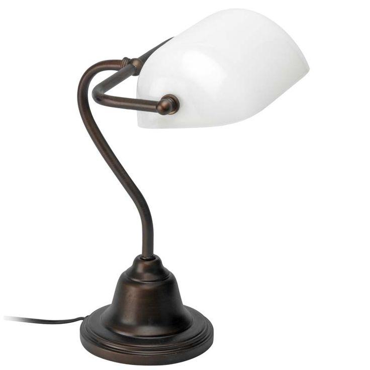 17 meilleures id es propos de lampe banquier sur pinterest lampe led lampe bureau et. Black Bedroom Furniture Sets. Home Design Ideas
