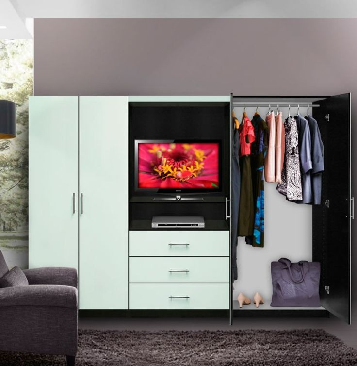 The 25+ best Bedroom wall units ideas on Pinterest | White ...