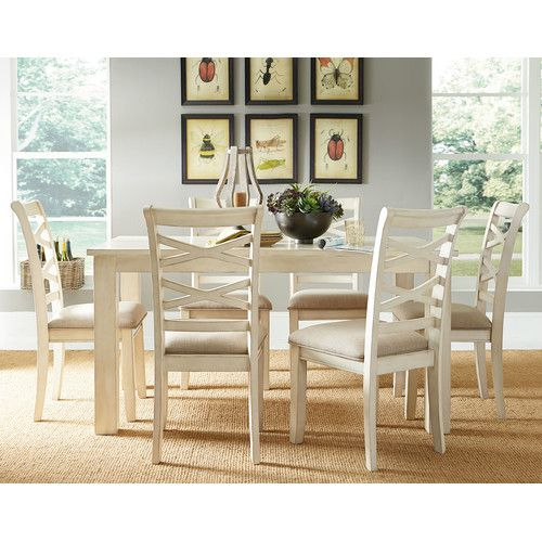 Redondo Vanilla Casual Transitional Dining Set By Standard Furniture At  Great American Home Store