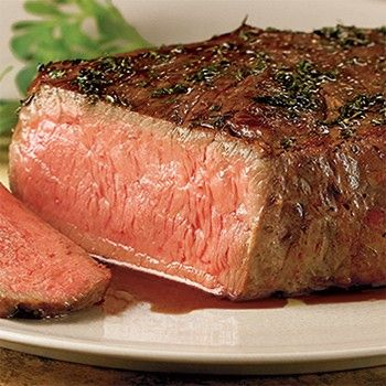 """Crowned the """"King of Steaks,"""" our boneless New York Strip is hand cut from the center of the strip loin & rich with fine marbling; one of our finest steaks. Description from webestsave.com. I searched for this on bing.com/images"""
