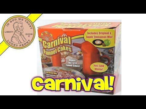 Carnival Funnel Cakes Maker Set - LPS-Dave Learns How to Make a Funnel Cake