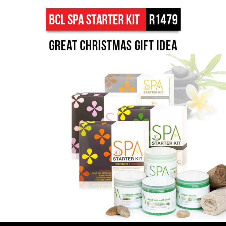 Christmas is around the corner, and Hairhouse Warehouse has great gift ideas to make your Christmas shopping a breeze. How about this BCL Spa Starter Kit for only R1479? For more great gift ideas, visit the Hairhouse Warehouse Online Store. https://www.hairhousewarehouse.co.za/great-gifts?utm_source=pinterest&utm_medium=social&utm_campaign=organic-post&utm_content=pinterest_social_organic-post_hhwh-w1-christmas-gift-idea