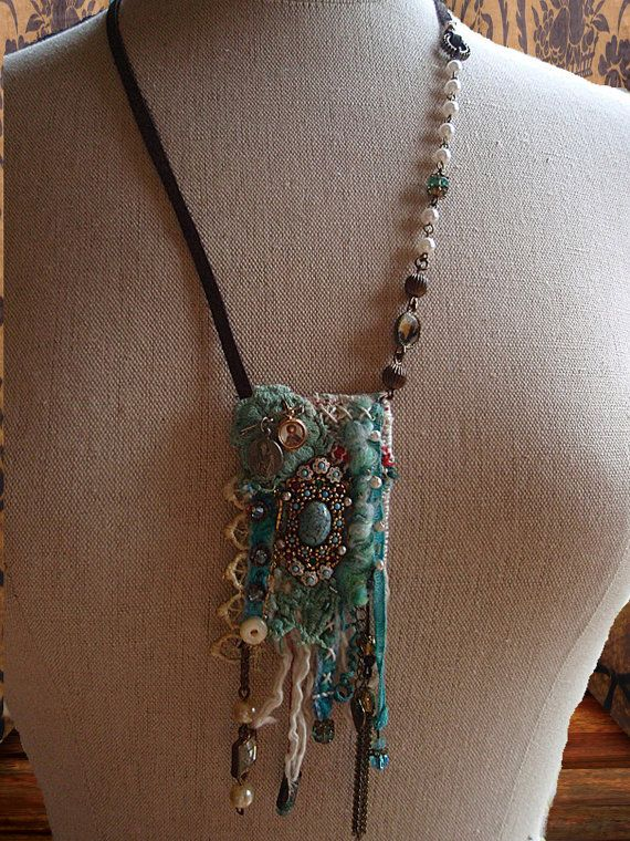 Ocean Diva Gypsy necklace Travelers Amulet by PhiepbySophie,