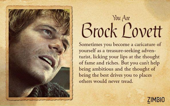 I'm Brock Lovett! Which 'Titanic' character are you? #ZimbioQuiz