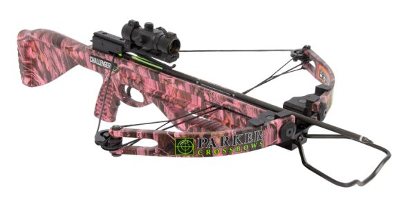 camo guns for women | The Challenger PINK is proudly made in the U.S.A., is backed by Parker ...