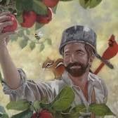 Johnny Appleseed. A colonial Ma. apple cider nurseryman.