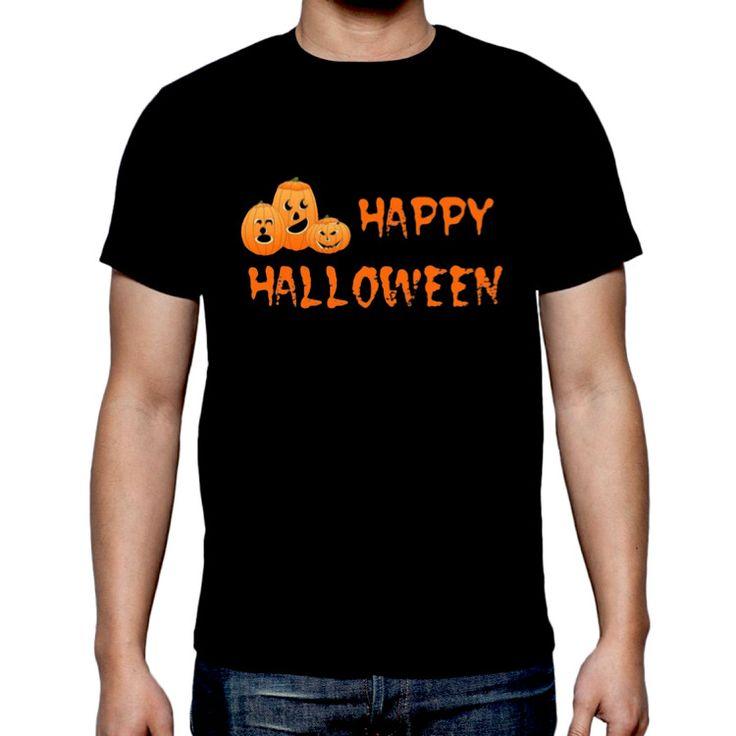 Halloween t-shirt scary pumkin costum happy Halloween unisex 3XL -5XL