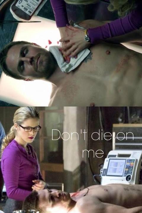 #Arrow #Season1 #Olicity