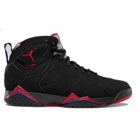 Air Jordan 7 Retro Raptors Charcoal Red 2012 Black True Red Dark Charcoal Club Purple 304775-018  $102.00 http://www.jordanpatros.com