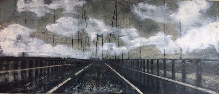 STORDBRUA #artbybitta 2017. 100x43 cm. Akrylic painting