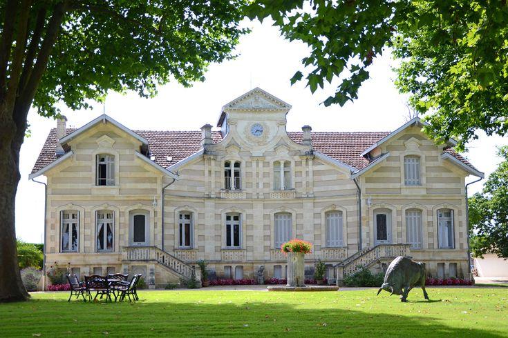 Château Maucaillou Moulis Médoc Route Des Châteaux