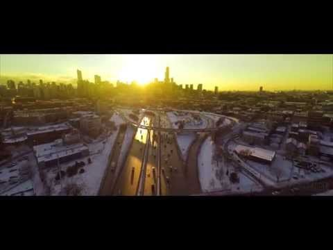 Winter Has Rarely Looked More Beautiful Than In This Drone Video Of Frozen Chicago http://www.huffingtonpost.com/2015/01/12/chicago-drone-video-winter-frozen_n_6458050.html