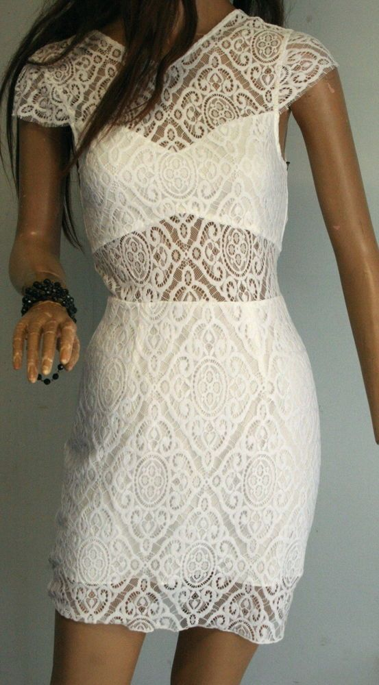 199b653d73a2 Beautiful SAYLOR Revolve 'Tamara' White LACE Fitted DRESS Size S BNWT  #fashion #clothing #shoes #accessories #womensclothing #dresses (ebay link)