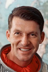 Wally Schirra, one of the original Mercury Seven Astronauts was born today 3-12 in 1923. He was part of the Gemini and Apollo programs as well. He passed in 2007.