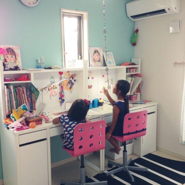 IKEA/子供部屋女の子…などのインテリア実例 - 2015-08-11 13:15:42 | RoomClip(ルームクリップ)