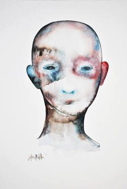 "Saatchi Art Artist Julius Redillas; Painting, ""User no 2"" #art"