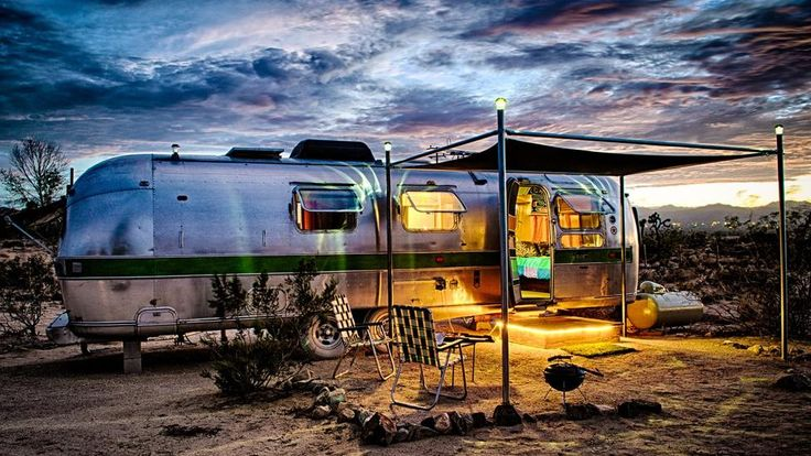 Vintage Airstream finds new career as resort accommodation