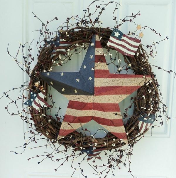 Americana decor my-love-of-wreaths