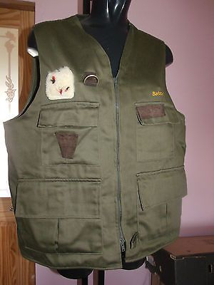 Barbour #gilet waistcoat fly fishing, #vest, vintage, #large, View more on the LINK: http://www.zeppy.io/product/gb/2/111987934114/