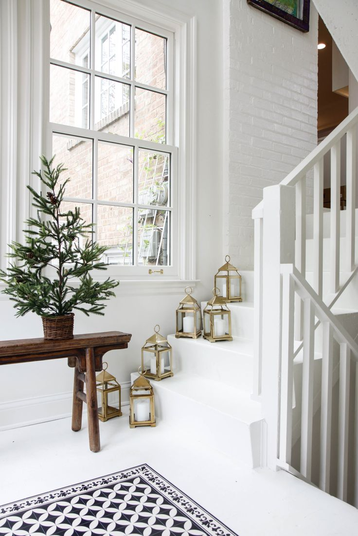 simple minimalist holiday decor // anne sage