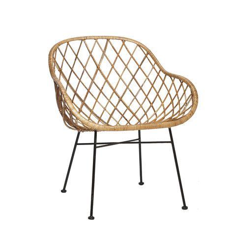 rattan chair hubsch