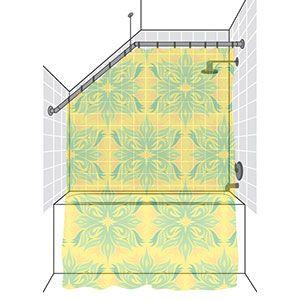 25 Best Ideas About Shower Rod On Pinterest Bathroom