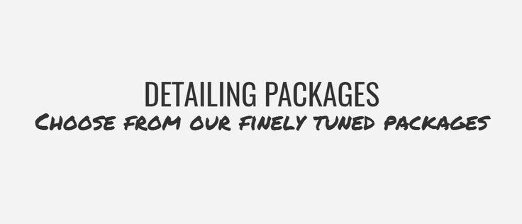 Detailing Packages - Hawaii Auto Detail | Car Wash | Car Detailing | Honolulu, Oahu