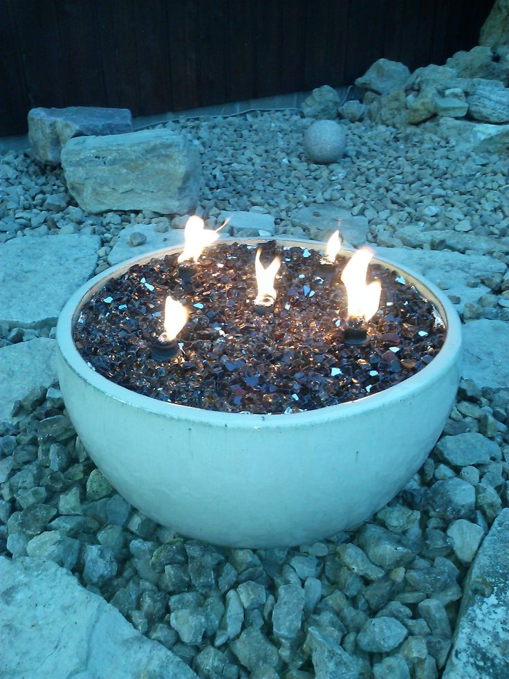 17 best ideas about fire glass on pinterest glass fire for Flower fire pit