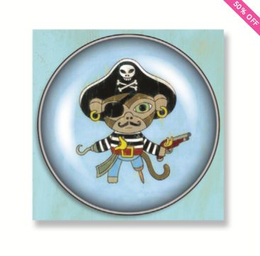 Single - Pirate/Monkey - Bobangles #Ipop #magnet #pirate #kids